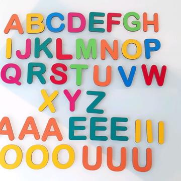Kit Educativo em MDF 41 peças Coloridas