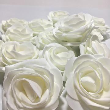 Flor de E.V.A - Branca