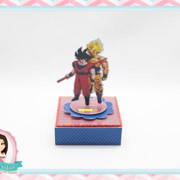 Caixa Para 4 Bis Dragon Ball Z