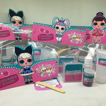 Kit Slime LOL Embalagens Personalizadas