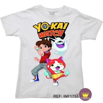 Camiseta Infantil Yo-kai Watch 03