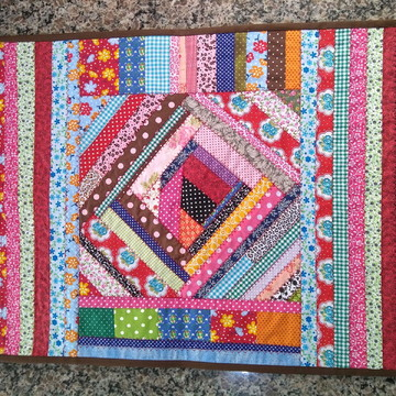 Tapete Crazy patchwork