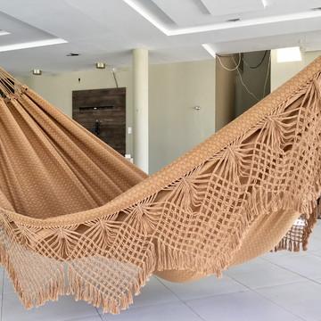 Rede de dormir descanso casal gigante