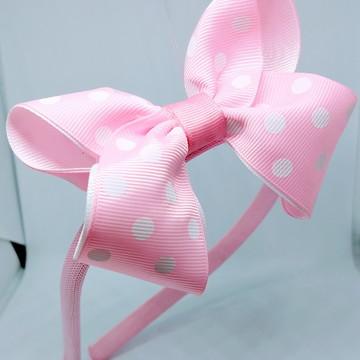 Tiara Boutique Minnie Rosa Com Branco