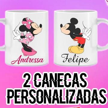 Kit de Caneca personalizada namorados