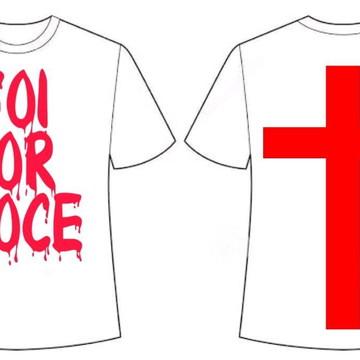 Camiseta Foi Por Você
