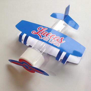 Tubete personalizado aviador
