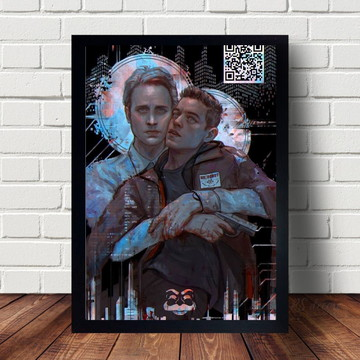 Quadro Decorativo Mr.Robot