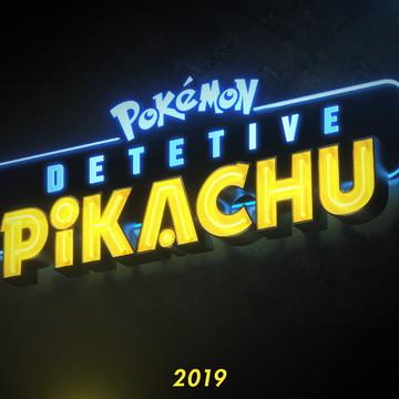 Faixa decorativa em adesivo do tema Detetive Pikachu