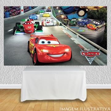 Painel decorativo carros disney