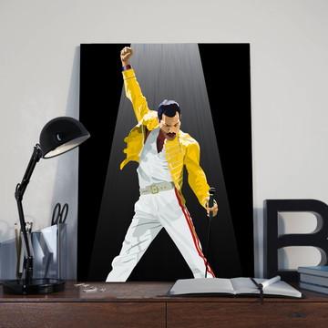 Quadro Freddie Mercury - Tamanho 30X40