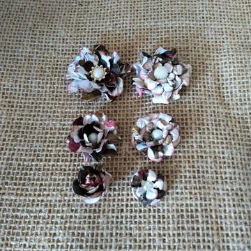 Flores scrapbook (kit Dayse)
