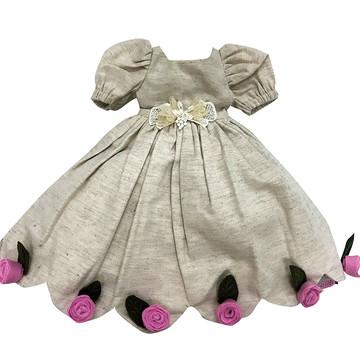 Vestido de festa para boneca de pano Pietra