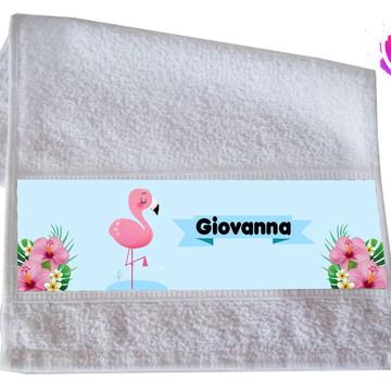 Toalha de Mão - Flamingo