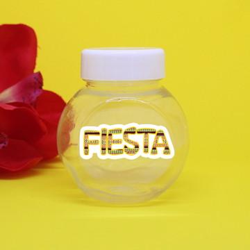 Baleiro de plástico com adesivo – fiesta mexicana