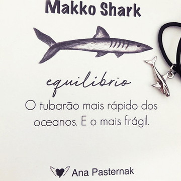Makko Shark , chocker ou pulseira