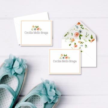 Cartão Social Infantil Mini - Lully