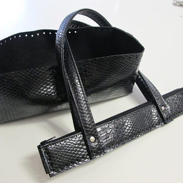 kit couro bolsa basic