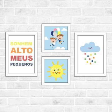 quadro para irmãos - quarto de menino - quarto infantil