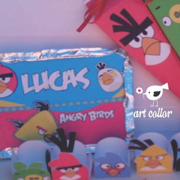 10 kits festa angry birds / Temos todos os temas