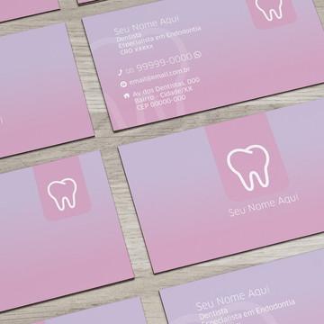 Cartão de Visita Dentista M0003