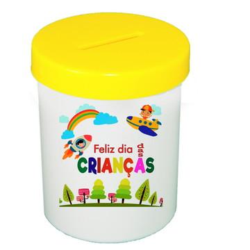 COFRE PERSONALIZADO-Dia das Crianças-Feliz dia das Crianças