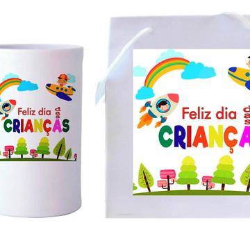 Presente Dia das Crianças - Caneca + Sacola