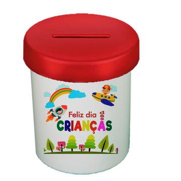 COFRE VERMELHO - Dia das Crianças - Feliz dia das Crianças