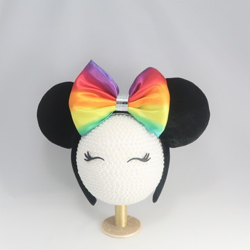 TIARA ORELHAS MINNIE - RAINBOW