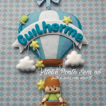 Balão em Feltro (Decoração de Porta Maternidade)