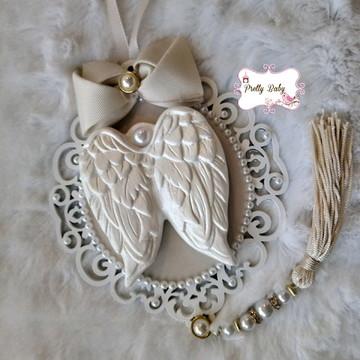 Pingente de Berço ou Porta Asinha de Anjo