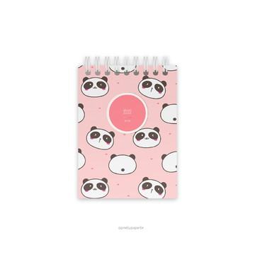 Pretty Bloquinho - Panda Mania
