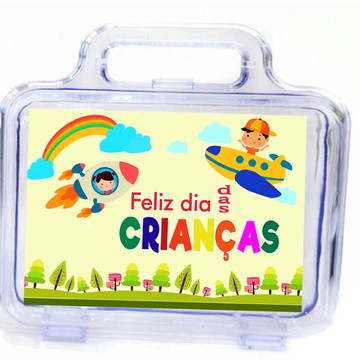Maleta para o dia das crianças - Brinde Personalizado