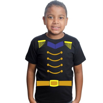 Camiseta Soldadinho De Chumbo Infantil Para Festa