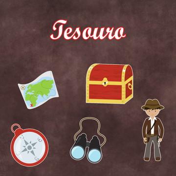 Recortes - Explorador / Tesouro