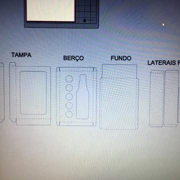 00117 ARQUIVO CAIXA LONG NECK E 5 DOCES FCM ou STUDIO ou PDF