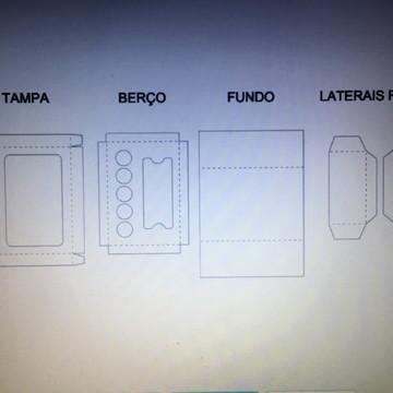 00118 ARQUIVO LATINHA E 5 DOCES FCM ou STUDIO ou PDF