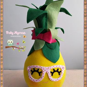 Abacaxi - Festa Tropical em Feltro