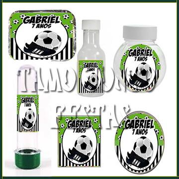 Kit Lembrancinhas Futebol com 60 itens