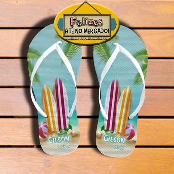Chinelo Surf! Sandália Lembrancinha de aniversário!
