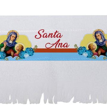 Toalha Personalizada Santos - Sant'Ana - Novena