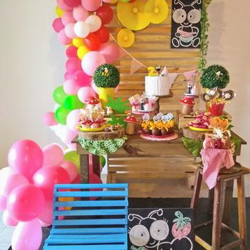 Piquenique - Decoração Festa Infantil