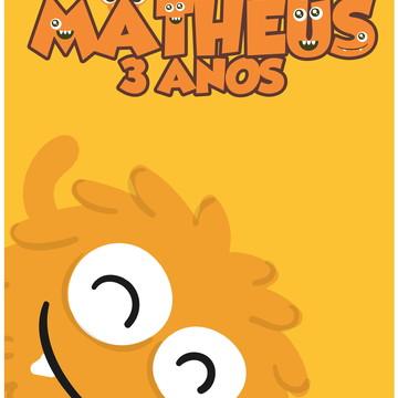 Banner Monstrinhos