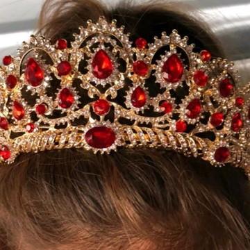 Coroa Rubi Noiva e Debutante