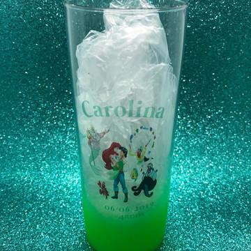 Copo Long Drink Degradê Colorido Personalizado