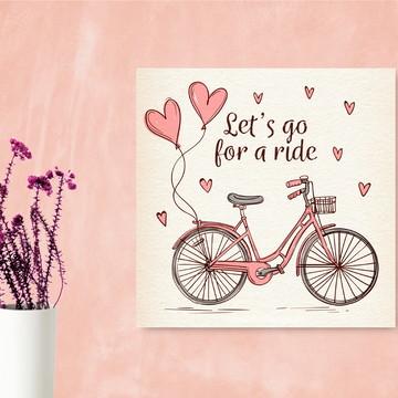 Poster de Bicicleta Vintage - imprimir