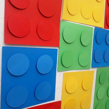 Painel tema Lego