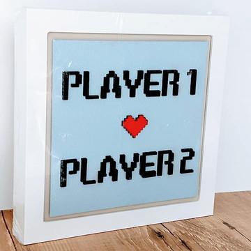 QUADRINHO PLAYER 1 - PLAYER 2