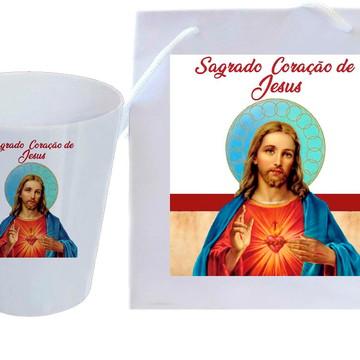 Kit São João Batista Brinde para igreja - Santos