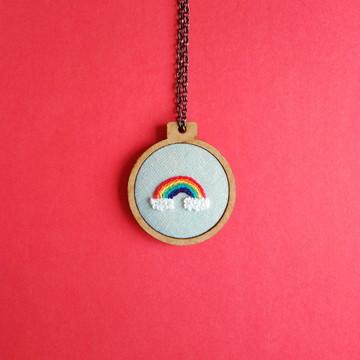 Mini bastidor arco-íris